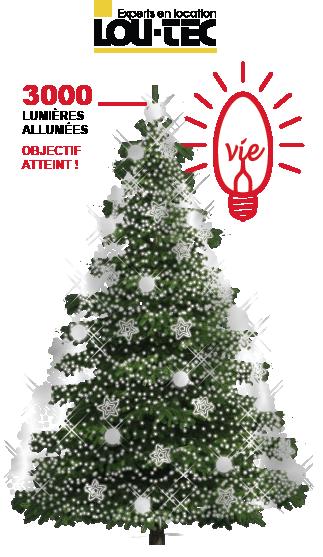Le SAPIN de Noël de La Maison Victor-Gadbois
