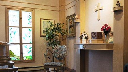 La Maison Victor-Gadbois | Chapelle